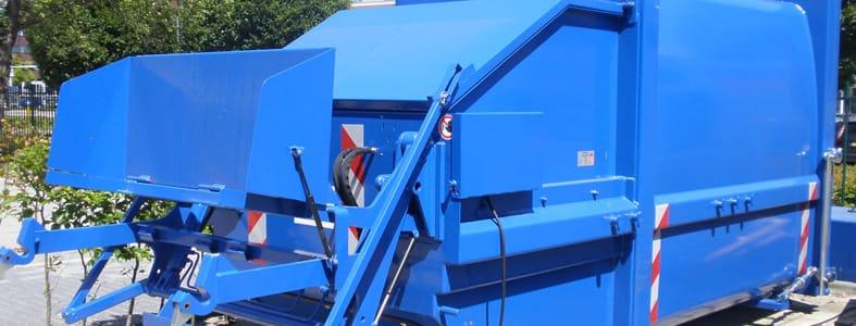 Perscontainer huren voor uw bedrijfsafval | Afvalcontainerbestellen