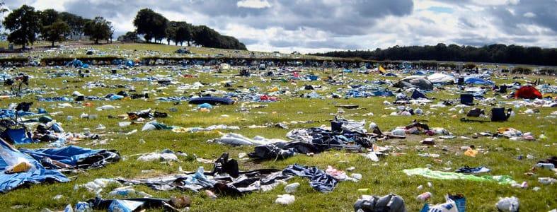 Afvalvrije festivals | afvalscheiding | Afvalcontainerbestellen.nl