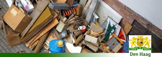 Grofvuil Den Haag | Afvalcontainerbestellen