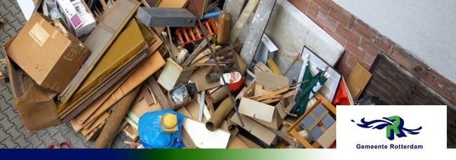 Grofvuil Rotterdam | Afvalcontainerbestellen