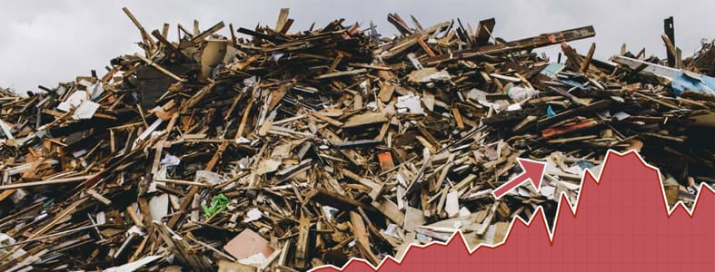 Forse prijsstijgingen afvalverwerking | Afvalcontainerbestellen.nl