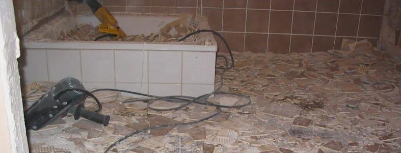 Verbouwen van badkamer of keuken | Afvalcontainerbestellen