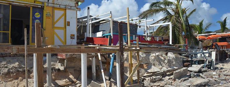 Initiatieven voor puinafval Sint-Maarten | Afvalcontainerbestellen.nl