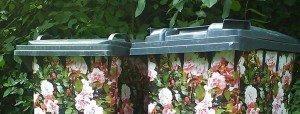 Opgefleurde containers tegen dumpen grofvuil | Afvalcontainerbestellen.nl