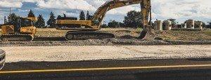 bouwafval en gerecyclede producten in asfalt afvalcontainerbestellen